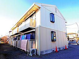 東京都武蔵村山市大南5の賃貸アパートの外観