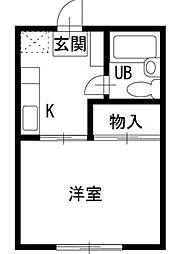 ツインコート[2階]の間取り