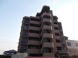 愛知県北名古屋市高田寺出口の賃貸マンションの外観