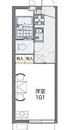 グレイス SHINOII[1階]の間取り