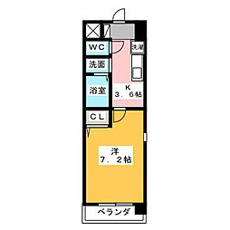 TOWA STAGE TAKAMA[4階]の間取り