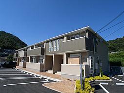 兵庫県姫路市大塩町の賃貸アパートの外観