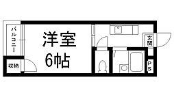 ロイヤルライフ八坂[0306号室]の間取り