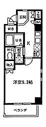 愛知県名古屋市千種区古出来3丁目の賃貸マンションの間取り
