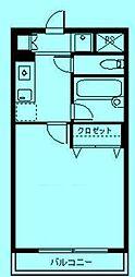 さぎぬま山荘A棟[1階6号室号室]の間取り