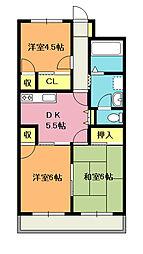 長島 ビル[204号室]の間取り