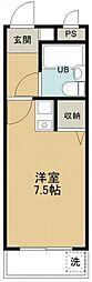 煉瓦館6[207号室号室]の間取り