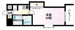 Osaka Metro御堂筋線 江坂駅 徒歩3分の賃貸マンション 7階1Kの間取り
