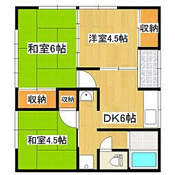 [一戸建] 茨城県かすみがうら市稲吉 の賃貸【/】の間取り