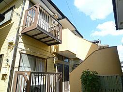 埼玉県上尾市愛宕3丁目の賃貸アパートの外観