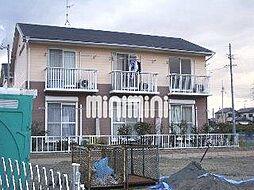 ハイツプレアデスB[1階]の外観