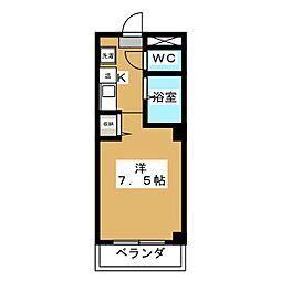 亀權[3階]の間取り
