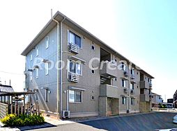徳島県徳島市北田宮2丁目の賃貸アパートの外観