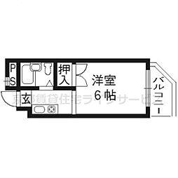 ファーマシー21[505号室]の間取り
