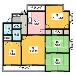 稲舟マンション[2階]の間取り
