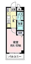 リアン駅前マンション[2階]の間取り