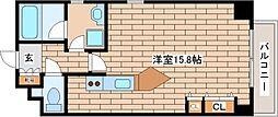 兵庫県神戸市灘区中郷町4丁目の賃貸マンションの間取り