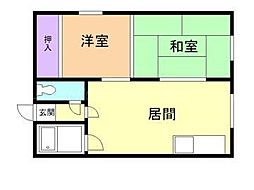 北海道札幌市東区北四十条東7の賃貸アパートの間取り