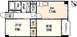 高陽第一センタービル[4階]の間取り