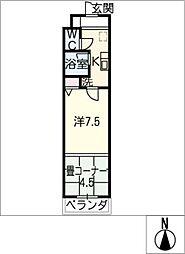グランドヒルズ酒井[2階]の間取り