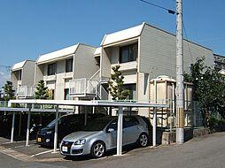 京都府宇治市木幡中村の賃貸アパートの外観