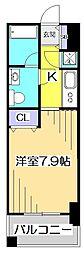 コンフォート武蔵野[4階]の間取り