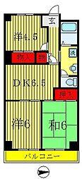 第三ロイヤルマンション[5階]の間取り