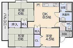 メゾン隅田[2階]の間取り