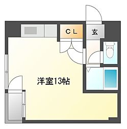 プレズ名古屋新宿[5階]の間取り