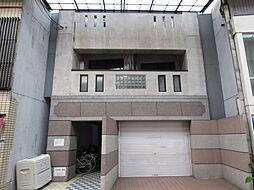 大阪府大阪市東住吉区南田辺1の賃貸マンションの外観