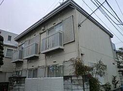 東京都中野区南台4丁目の賃貸アパートの外観