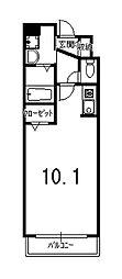 トムズガルテン[3階]の間取り