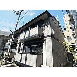 奈良県奈良市大宮町1丁目の賃貸アパートの外観