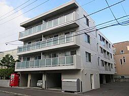 北海道札幌市北区北三十六条西2丁目の賃貸マンションの外観