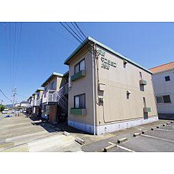 奈良県橿原市常盤町の賃貸アパートの外観