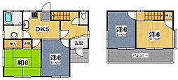 [一戸建] 茨城県ひたちなか市大字足崎 の賃貸【茨城県 / ひたちなか市】の間取り