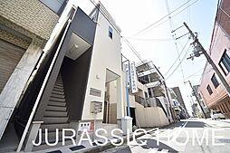 大阪府堺市堺区甲斐町東4丁の賃貸アパートの外観