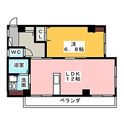 ユタカマンション[2階]の間取り