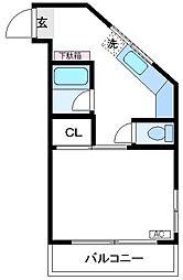 ホワイトBL[305号室]の間取り
