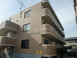 岡山県岡山市北区学南町1の賃貸マンションの外観