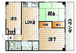 マキシム社ノ木[4階]の間取り