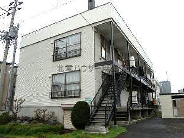 第二シャトー武田[2階]の外観