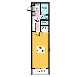 Palette−O4[1階]の間取り