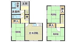 [一戸建] 兵庫県姫路市飾磨区今在家6丁目 の賃貸【兵庫県 / 姫路市】の間取り