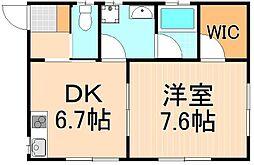 仮)千住元町アパート[1階]の間取り