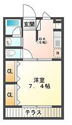 ING1[1階]の間取り