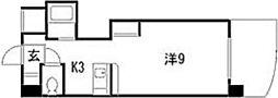 ルナパール大宮[4階]の間取り