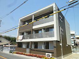 大阪府吹田市尺谷の賃貸マンションの外観