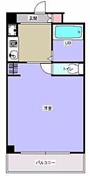 ウイングス北平野[415号室]の間取り
