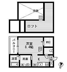 Montaner (モンタネール)[2階]の間取り